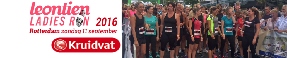 Leontiens Ladies Run op 11-09-2016
