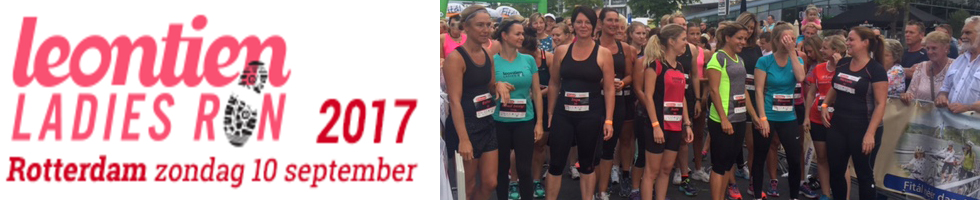Leontiens Ladies Run op 10-09-2017